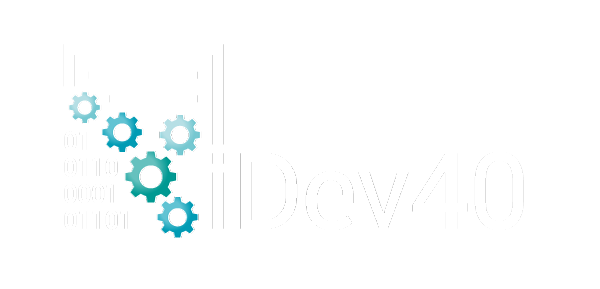 iDev40 - Integrated Development 4.0 logo
